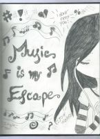 Music In My Escape by EpicTilly24
