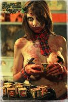 Zombie Tramp Poster 1 by LillyLeeModel