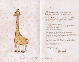 rooney: the gentle giraffeee . by hearte