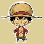 Mugiwara Luffy Sticker by Exeivier
