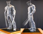 Wolverine maquette 2 by MarkNewman