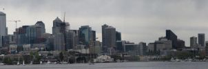 Seattle Panorama from GWP by The-Brade
