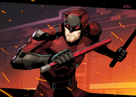 Daredevil by Nib2T