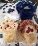 Handpaw examples by GoldenCat22
