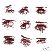 eye spam xD by Slurpiees