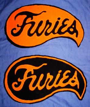 Baseball Furies Patches by ralphenstein