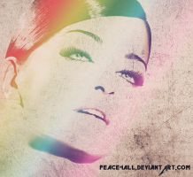 Woman Colorful by Peace4all