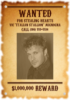 Vic Mignogna is a wanted man?! by mistylovesrocklee