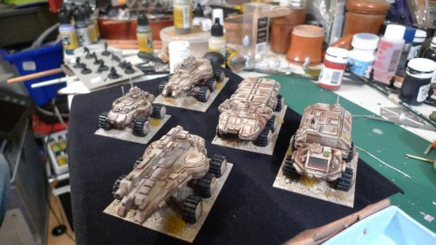 Ground Zero Games Tanks by inrepose