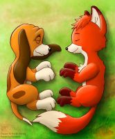 Lying Together by Kampidh