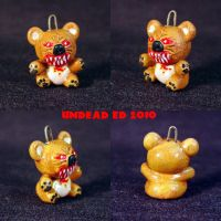 Killer Bear Charm Pendant by Undead-Art
