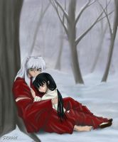 Warmth in the Snow - mylitt... by ClubInuyasha