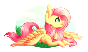{Collab} : Fluttershy by Micky-Ann