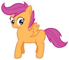Happy Scootaloo by TuxRug