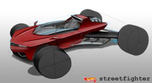 Streetfighter - Hot Wheels by AaronsDesk