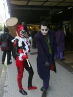 Joker and Harley by LeanAndJess