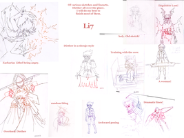 All the drawings by UltraLiThematic