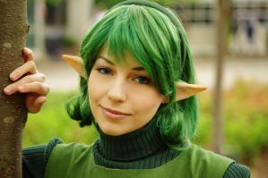 Zelda OOT: Saria 3 by SFLiminality
