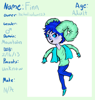Loreling Adoptable, Name: Finn by loreling-adoptables