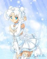Sailor Snowflake Prize drawn by Drachea Rannak by Sugar-Senshi