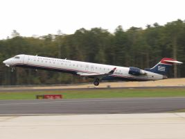 CRJ-900 Takeoff by InDeepSchit