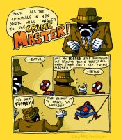Spidey - The Crime Master by claudetc