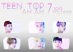 Teen Top AH AH Folders by Icetaem