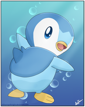 Contest: Piplup by RecklessKaiser