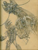 Sketches - The Stranger and the Aeon by eoghankerrigan