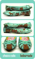 Choco Cats shoes by Bobsmade