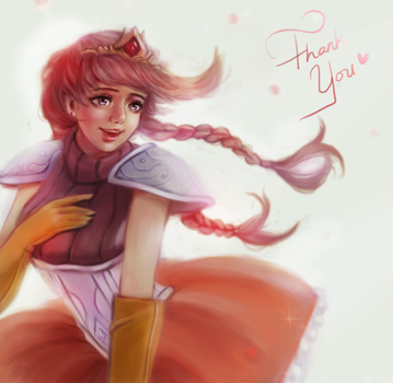 Lulu The Princess Fan Art (THANK YOU!) by minnhsg