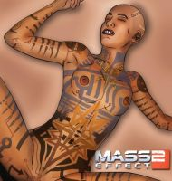 Mass Effect 2 - Subject Zero by grixxin