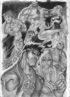 street fighter by eltondias