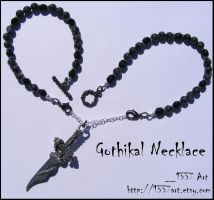 Gothickal Necklace by 1337-Art
