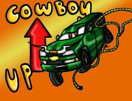 Cowboy Up by Asphalt-Cowgirl