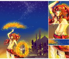 AT: Fire Dancer by rae-shi