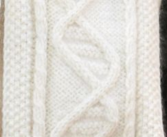 Lush DNA Scarf: the Close-up by penniavaswen