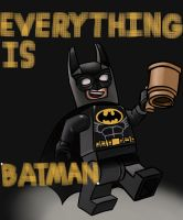 Everything is BATMAN by Paleodraw