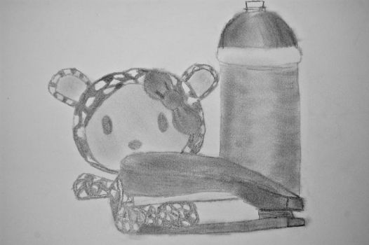 Hello Kitty Still Life by mafromage