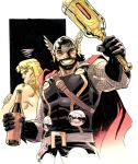 Hercuthor and Thorcules by ReillyBrown
