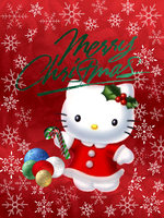 My Hello Kitty Christmas Card by TNBrat