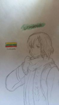 [APH] Lithuania - Without Color by Sophiechan6
