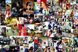 Collage of my works 2007-2009 by ahbu