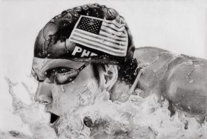 Michael Phelps by knathe25