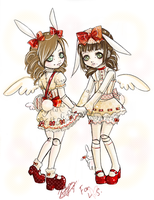 Lily and Hanyou : for LS by CrookedAlice