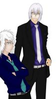 Bleach - Gin and Hitsugaya - Reborn by Neokillerqc