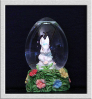 Easter Snowglobe by Dynamoe