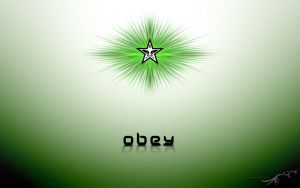Obey by violetsteel