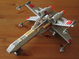 Lego X-Wing by Santian69