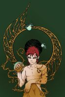 Gaara of the Desert by eloquence-of-line
